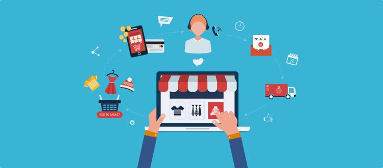 تجارت الکترونیک فروش اینترنتی در ایران