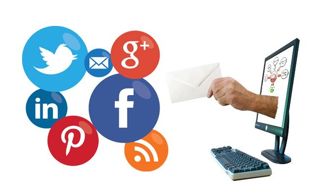 شبکه های اجتماعی و ایمیل مارکتینگ